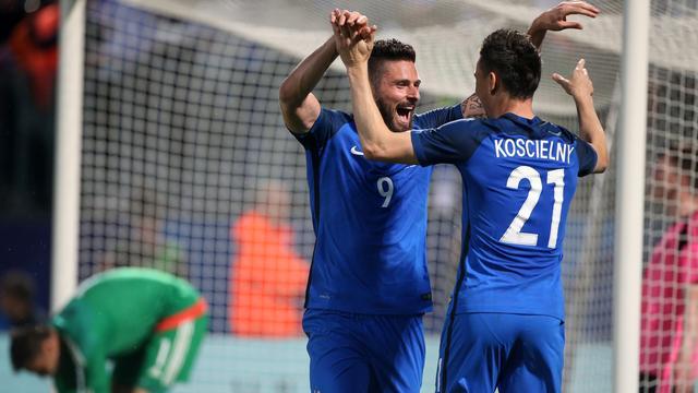 Frankrijk en Duitsland met oefenzeges naar EK, Kroatië scoort tien keer