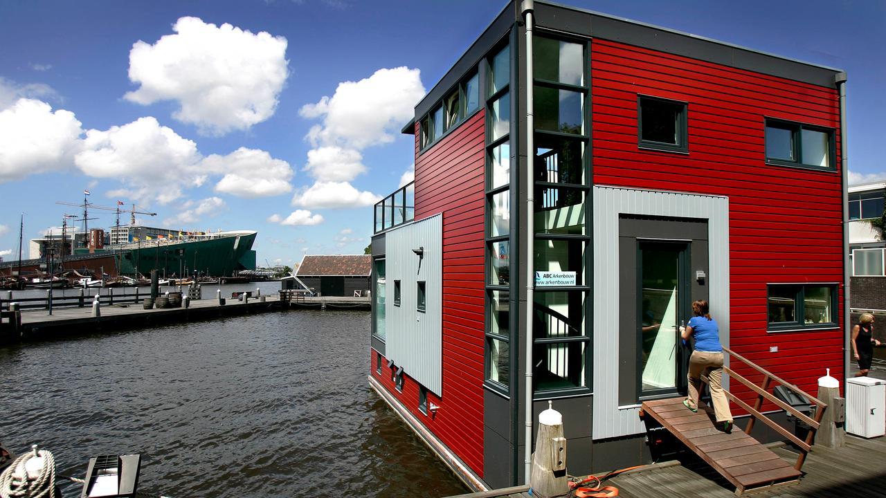 Wonen Op Woonboot : Wonen op water is interessante voorbereiding op stijging zeespiegel
