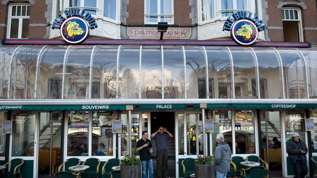 'Te druk in Amsterdamse coffeeshops'