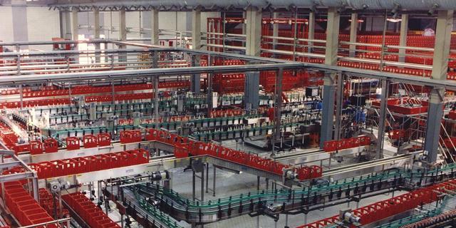 Zoutzuurdamp vrijgekomen bij Coca-Colafabriek in Dongen
