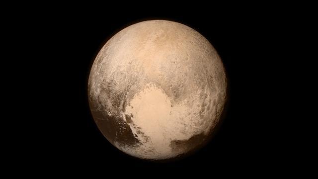 'Drijvende' ijsbergen waargenomen op Pluto