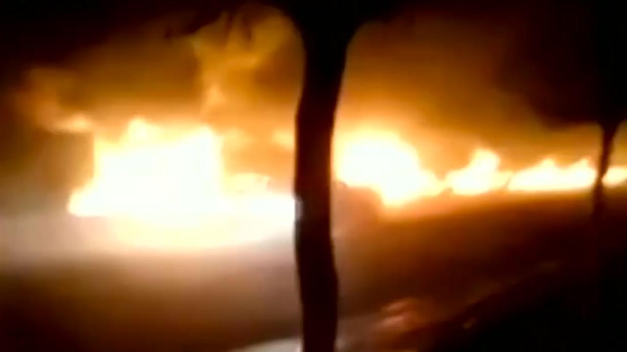 Explosie in chemische fabriek China zet omgeving in brand
