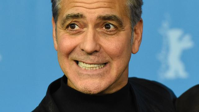 George Clooney noemt vaderschap 'angstaanjagend'