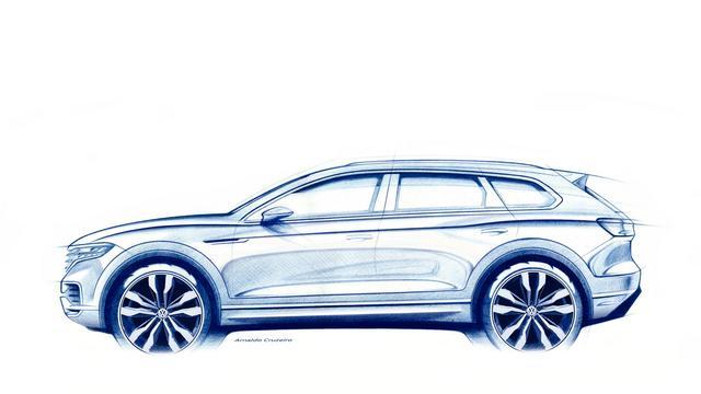 Onthulling nieuwe Volkswagen Touareg in maart