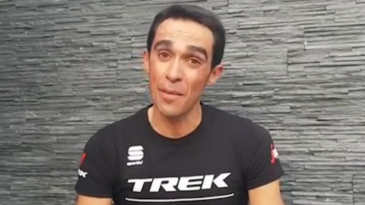 Contador kondigt pensioen aan in video op Instagram