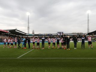 Wedstrijd in MAC³PARK stadion eindigt in 1-1