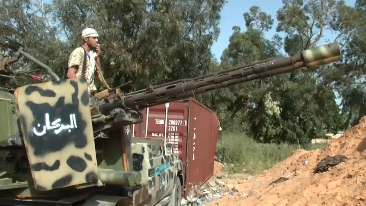 Conflict in Libië opgelaaid na zware schoten bij Tripoli