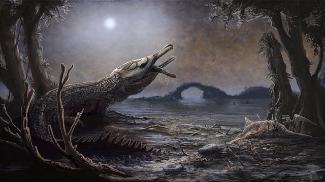 Prehistorische krokodil vernoemd naar Motörhead-zanger Lemmy