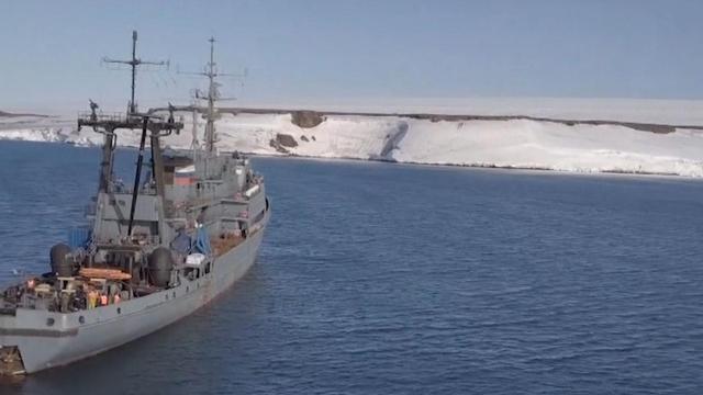 Vijf eilanden ontdekt door smeltende gletsjers