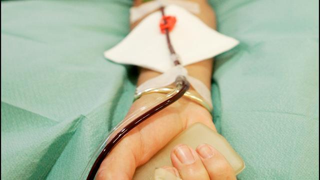 Griepepidemie zorgt niet voor tekort aan bloeddonoren