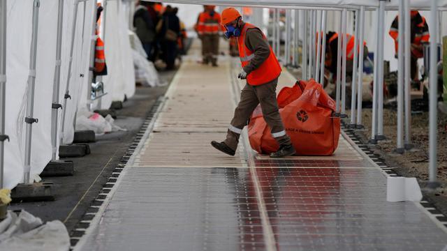 Franse werkloosheid daalt derde achtereenvolgende maand