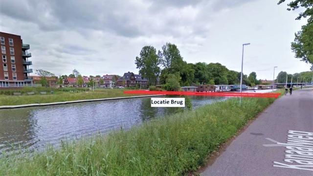 Plannen voor nieuwe brug Merwedekanaal