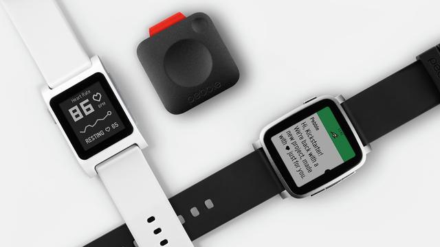 Pebble lanceert drie nieuwe wearables