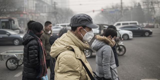 Code oranje in Peking wegens aanhoudende zware smog
