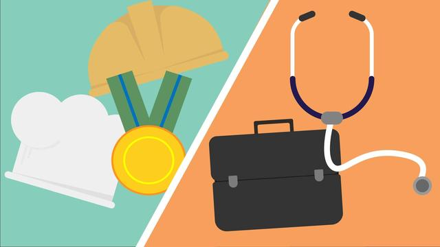 Hoeveel verdienen... een chirurg en een wijkverpleger?
