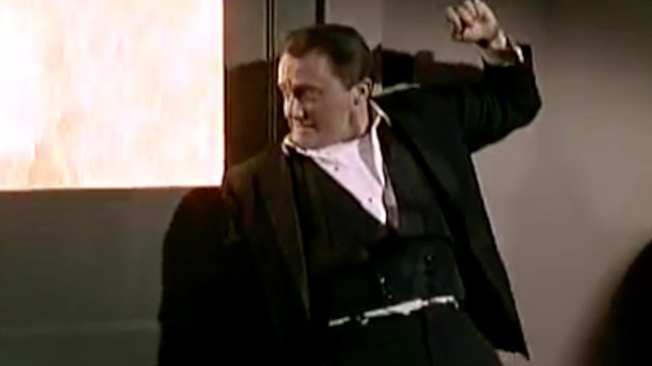 Acteur Robert Vaughn in The Man From U.N.C.L.E.