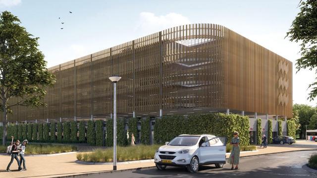 Parkeergarage Genneper Parken op de Aalsterweg is klaar in 2020