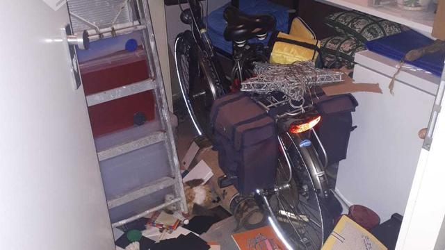 Scooter gestolen bij inbraken in zes kelderboxen in Vleuten