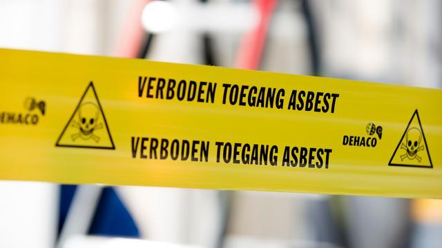 Asbest bij Jan Weugkade in Vlissingen