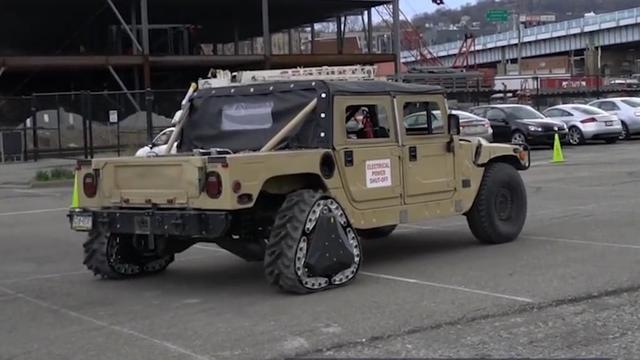 Amerikaans leger vindt wiel opnieuw uit