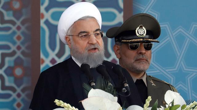 Iraanse president Rohani wil raketprogramma uitbreiden