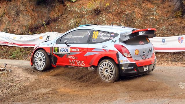 Nederlander Abbring zakt naar vijfde plaats in Rally van Corsica
