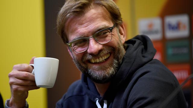 Klopp vindt dat Borussia Dortmund favoriet is tegen Liverpool