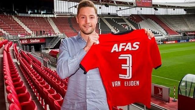 Transfer Van Eijden naar AZ afgerond