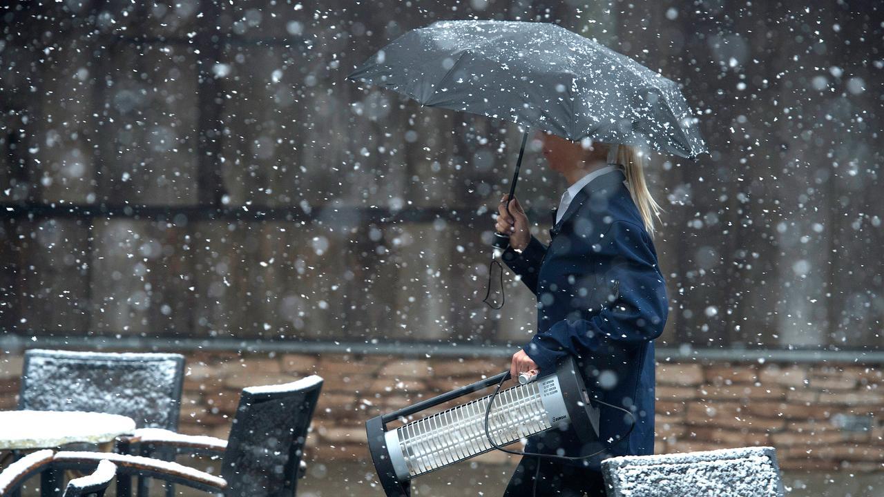 Nederland krijgt te maken met winterse buien in het weekend