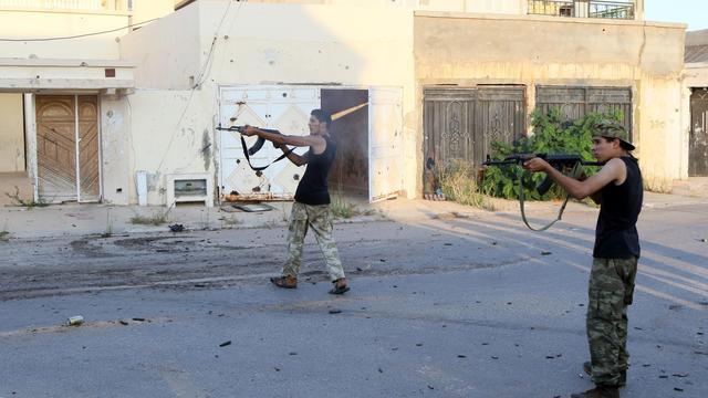Regeringstroepen Libië boeken vooruitgang in strijd met IS in Sirte