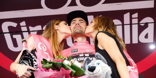 Dumoulin verwacht niet veel tijd te verliezen in eerste finish bergop Giro