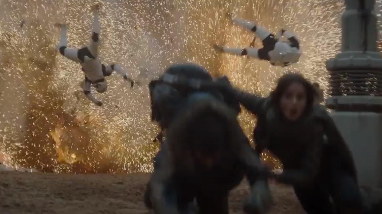 Trailer toont nieuwe beelden Star Wars: Rogue One