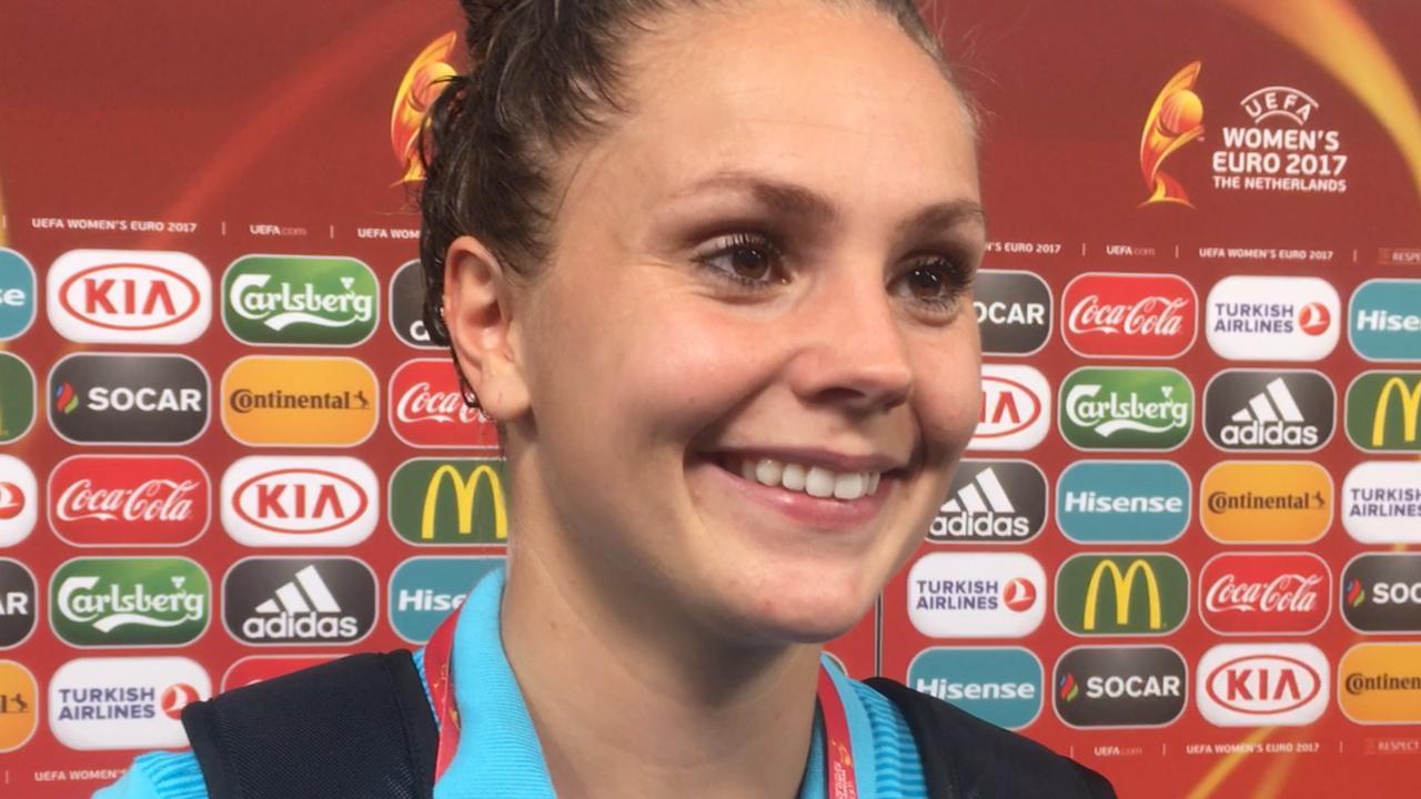 Lieke Martens: 'Dit hebben we met z'n allen gedaan'