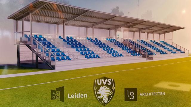 UVS geeft groots voetbalfeest ter ere van nieuw tribune