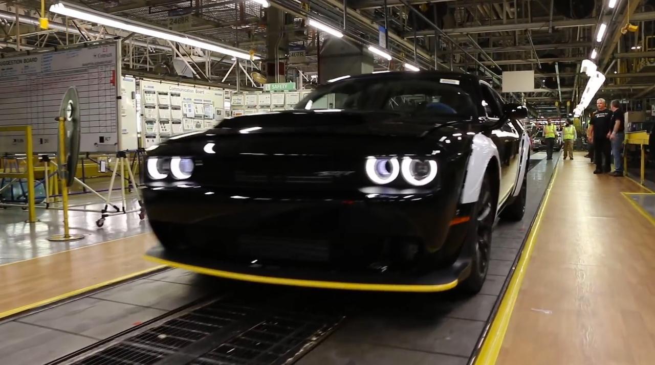 Laatste Dodge Challenger SRT Demon geproduceerd in Canada
