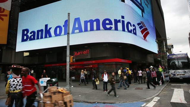 Bank of America profiteert van hogere rente