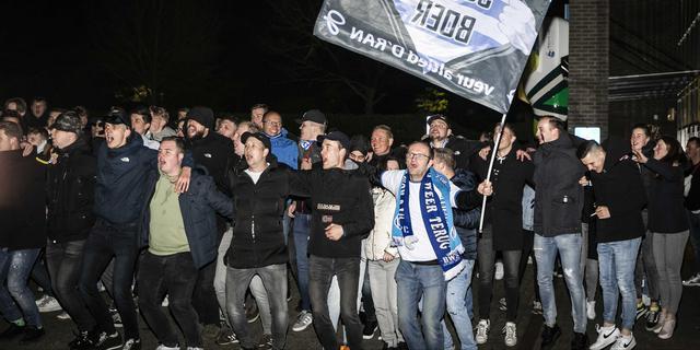 De Graafschap niet te spreken over gedrag fans tegen journalisten bij stadion