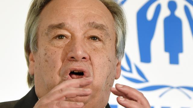 Portugees Guterres officieel opvolger Ban Ki-moon bij VN