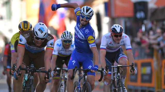Alaphilippe sprint in Milaan-San Remo naar zevende seizoenszege