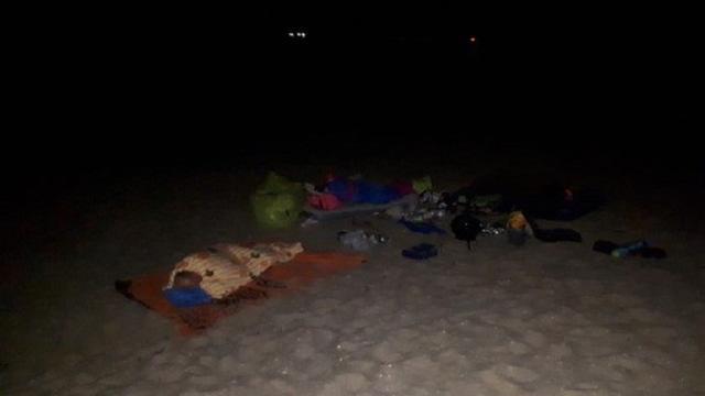 Politie beboet twee strandslapers bij Joossesweg in Westkapelle.