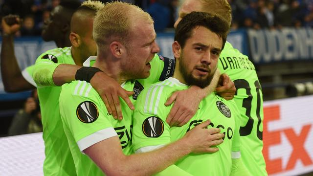 Ajax treft Olympique Lyon in halve finales Europa League