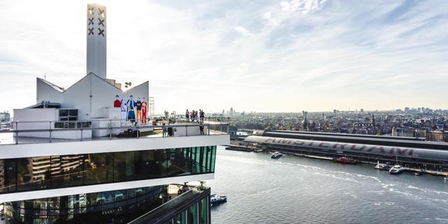 ADE-kunstwerk van Kamp Seedorf siert A'DAM Toren