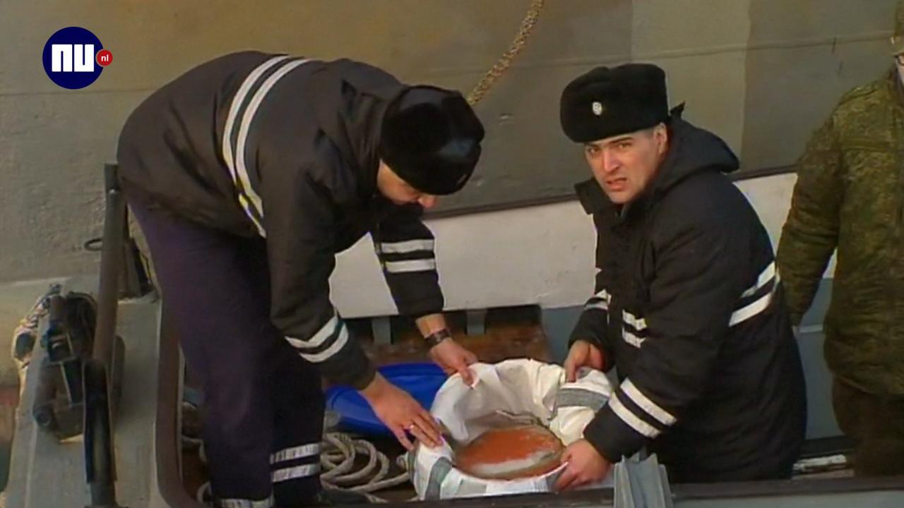 Een van twee zwarte dozen gecrasht Russisch vliegtuig gevonden