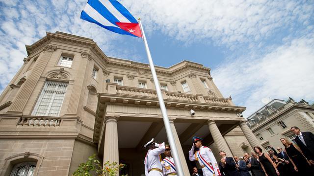 Ambassades VS en Cuba na ruim vijftig jaar weer open