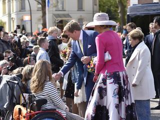 Koninklijke familie viert 27 april in Overijssel