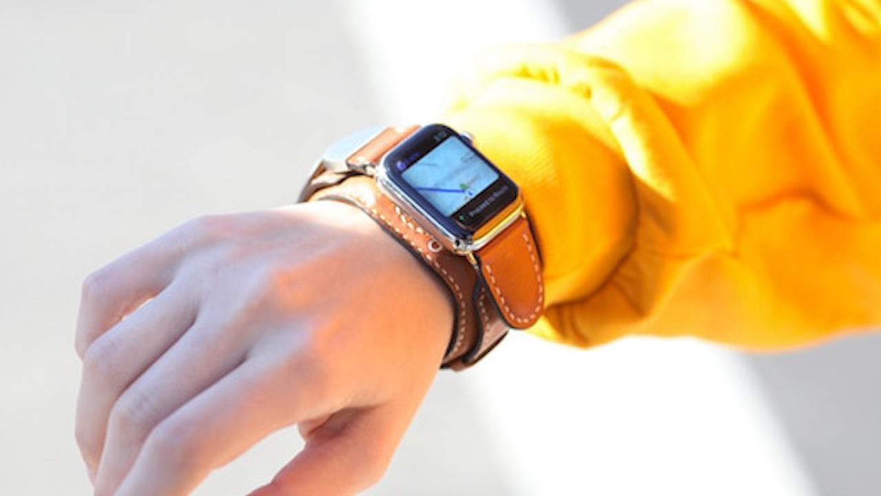 Horlogebandje kan Apple Watch tijdens het dragen opladen