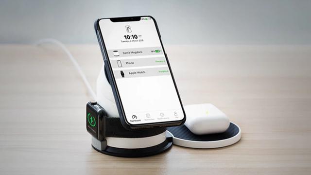 Oplaadstation kan apparaten van verschillende merken tegelijk opladen