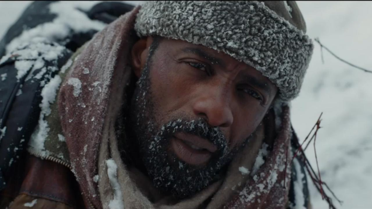 Idris Elba overleeft in de vrieskou in trailer The Mountain Between Us