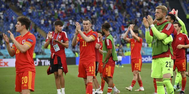 Bale trots op Wales na bereiken achtste finales: 'We moesten diep gaan'