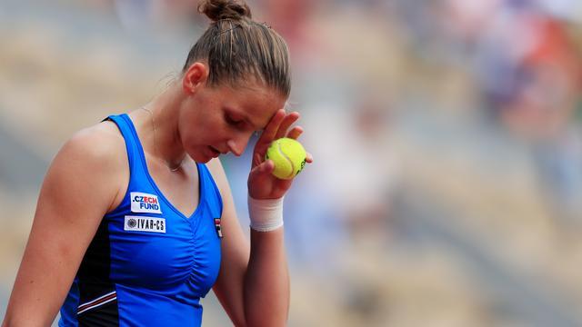 Ook Plísková verrassend vroeg ten onder op Roland Garros